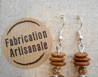 Tropical earrings / / Temple / / Lupine