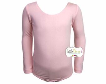 Lt.Pink (Child) Long Sleeve Leotard