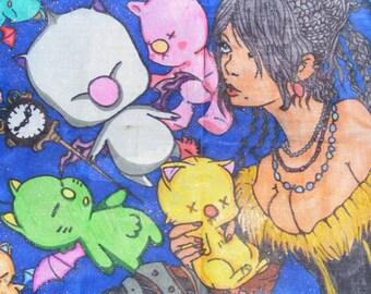 Final Fantasy Lulu Tote Bag with Moogles