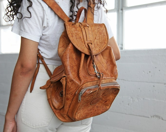 Leather Festival Backpack