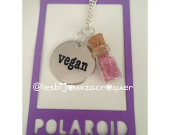 Stick vegan pink Crystal vial