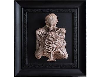 zdzislaw beksinski sculpture Macabre art Creepy Horror figure Dark art