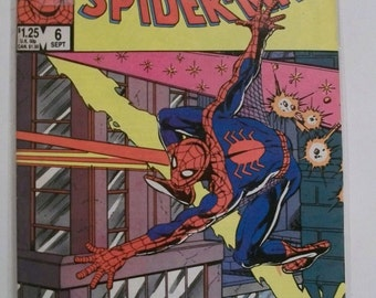 1985 The Official Marvel Index to The Amazing Spider-man #6  Chronological Order and Plot Synopsis VF-NM Unread Vintage Marvel Comic Book