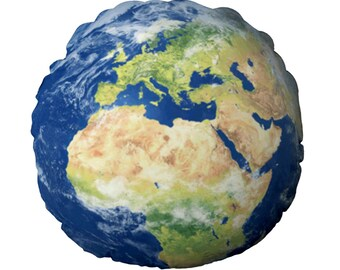Earth Round Cushion