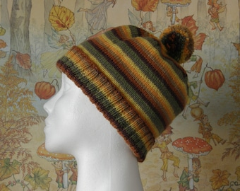 Classic Woollen Beanie with Pompon