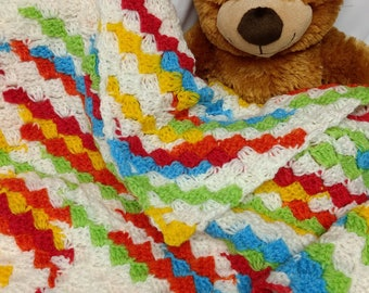CHEERFUL CHILD Toddler Lap Blanket-Ready to Ship