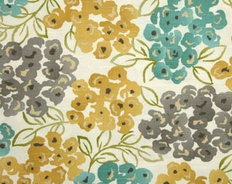 FLASH SALE!!!!,Luxury Floral Pool Robert Allen Fabric, Fabric By The Yard