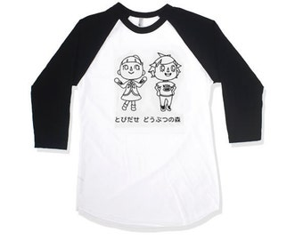 Animal Crossing Baseball Tee