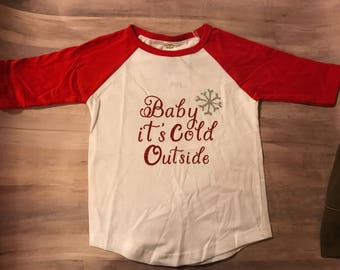 Girls Christmas shirt