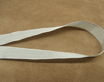 Extra strong - 1.5 cm - grey Pearl Ribbon