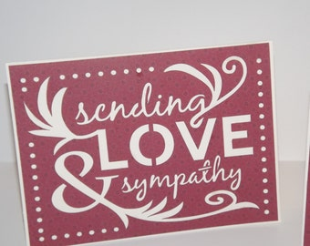 Sending Love and Sympathy CardS