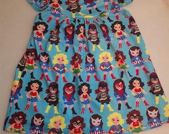 2t Girls Superhero Pearl Dress