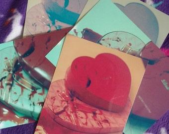 Bloody Valentine glossy photo print random grab