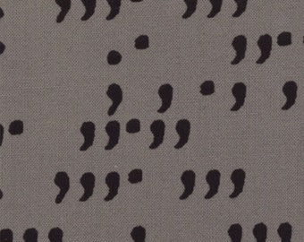 Comma Grey and Black Fabric by Zen Chic for Moda #1514 13 100% Cotton