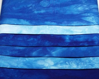 ESSENTIAL BLUES [110] Hand Dyed Tonal Fabrics/6 Pack