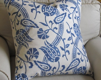 BLUE GARDEN Pillow cover, Sham 22x22 24x24 26x26