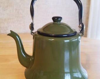 Green Teapot  Japan