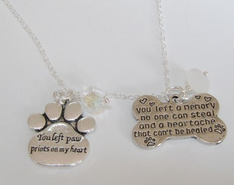 Pet Charms Inspirational Pet Charms Necklaces