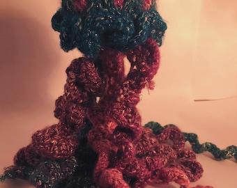 Jellyfish Hand Knit Stuffed Animal