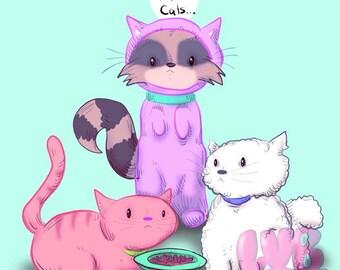 Fellow Cats Fine Art Print