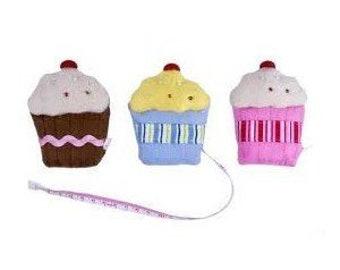 Felt Cupcake Tape Measure - Gisella Graham