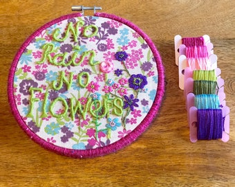Embroidery Hoop Art, Hand Embroidery, Handmade, Embroidery Hoop
