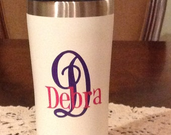 Personalized Tumbler with Lid