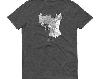 Oslo Shirt, Oslo, Norway, Oslo TShirt, Oslo Gift, Oslo Tee, Oslo Map, Norway Shirt, Norway Map, Oslo Art, Norwegian Shirt, Norwegian Art