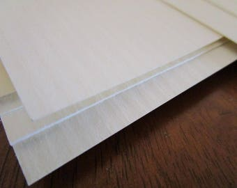 50 Sheets Heavy Textured Card stock~Spell Writing Paper~Craft Paper~Supply~Off-White~Scrapbooking~Book of Shadows