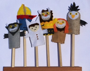 Where the Wild Things Are, Finger Puppets