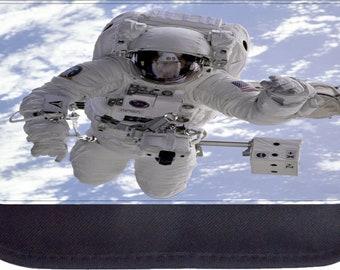 Astronaut in Outer Space - Black Pencil Bag - Pencil Case