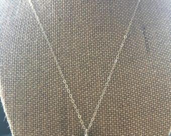 Sterling/Jasper Pendant Necklace