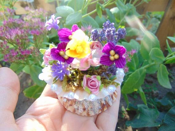 Fairy Garden Flower Pots Miniature flower pot fairy garden flower potminiature workwithnaturefo