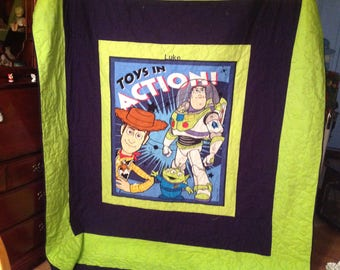Toy story twin quilt