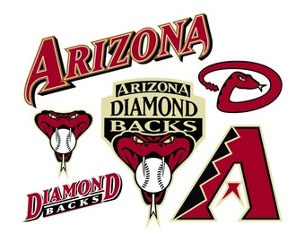 Arizona Diamondbacks Cut Files SVG Cutting