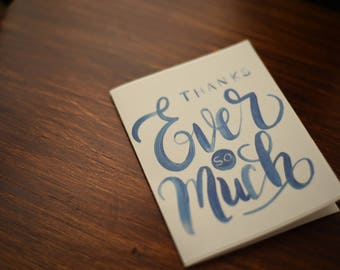 Thank You Cards | Ever So Much | Set of 10, 15 or 20