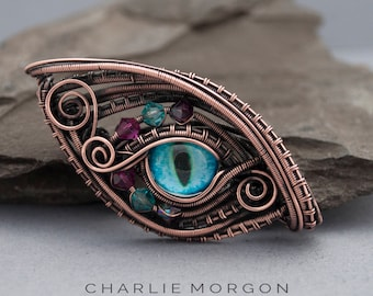 Turquoise Dragon Eye Pendant - Dragon Jewellery, Game Of Thrones, Gift For Her, Evil Eye Necklace, Dragon Amulet, Dragons Eye pendant