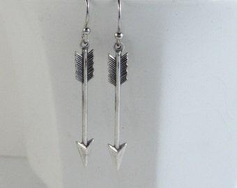 Boho Arrow,Earrings,Arrow Earrings,Arrow Jewelry,Arrow,Gypsy Earring,Silver Earrings,Antique,Wedding,Antique Earrings,Boho,valleygirldesign