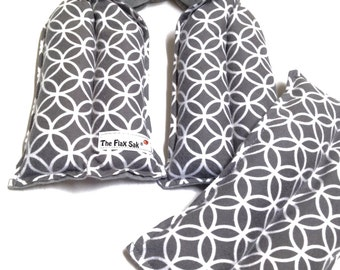 Microwave Heating Pad Spa Set - Neck wrap - Lumbar pack - Christmas gift for her - Hot cold therapy - long neck pad - neck pad - Hot pack