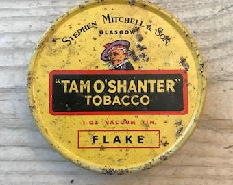 Vintage Tam O' Shanter Tobacco Tin