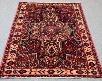 Rug Sale : 5.4' x 7.8 Shiraz Persian hand made area rug floor rug  bohemian rugs