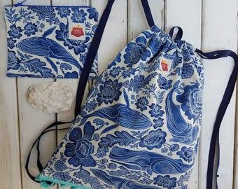 Draw String Ocean Bag