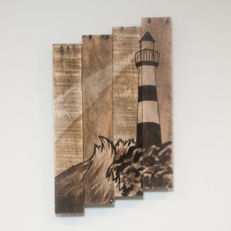 Lighthouse decor Lighthouse painting Lighthouse wall art