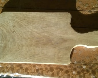 Hand made oak chopping board