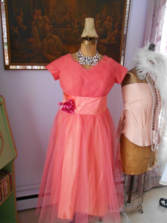 Salmon Colored Herringbone Blazer: Beautiful Salmon Colored Plus Size Prom Dress