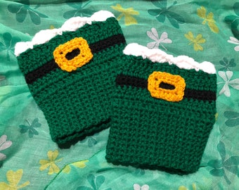 St. Patty's Day Boot Cuff/ Boot Toppers