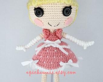 Amigurumi Doll Lalaloopsy Pattern : Pattern alice in wonderland crochet amigurumi doll