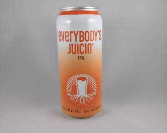 Burgeon bidon de bière Beer Company bougie, bougie de bières artisanales, parfumée bougie de soja