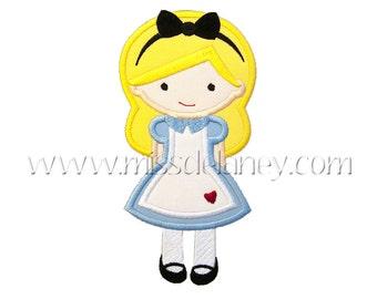 Alice Applique Design