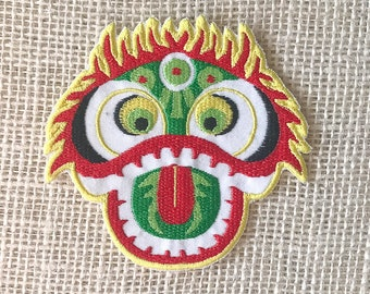 Dragon Mask Patch